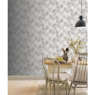 Linen Leaf Grey 906702