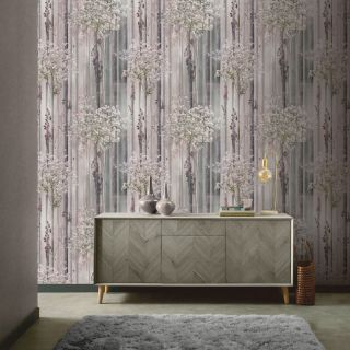 Blossom Forest Dusky Pink 908401