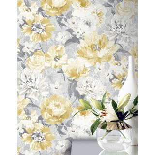 Aubrey Floral Ochre 908504