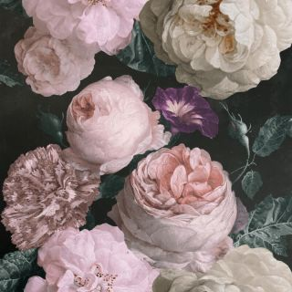 Highgrove Floral Charcoal 909300