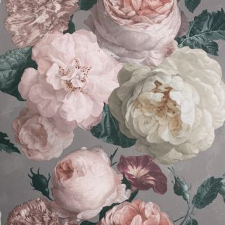 Highgrove Floral Warm Grey 909302