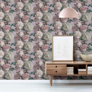 Highgrove Floral Blush/Pink 909303