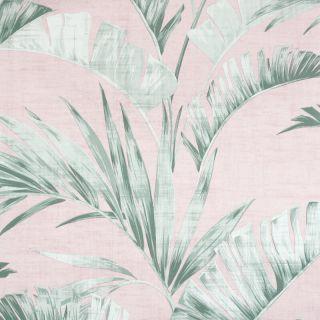 Banana Palm Pink/Green 909402