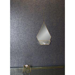 Kashmir Texture Navy Gold 910304