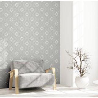Calico Trellis Grey  921400