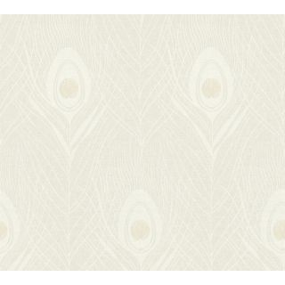 Absolutely Chic AS-369711 Feather Beige Wallpaper