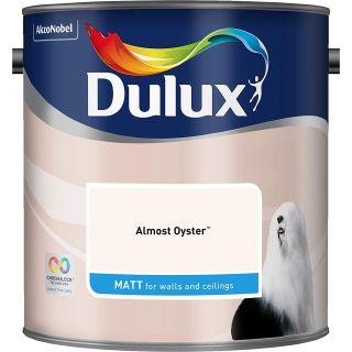 Dulux Almost Oyster- Matt- 2.5L