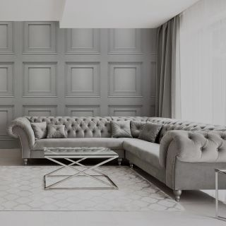 Amara Wood Panel Wallpaper Silver by Belgravia Decor GB 7374