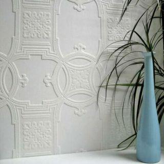 Anaglypta Luxury Textured Vinyl Wallpaper - 01600