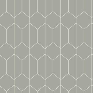 Arthouse Linear Geometric Grey Wallpaper - 909700