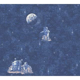 AS-304891 Blue Childrens Wallpaper