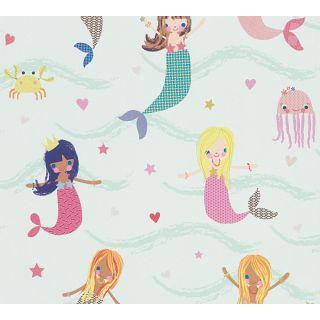 AS-305691 Blue Childrens Wallpaper