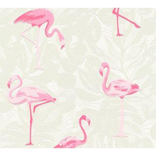 AS-359801 Pink Animal Wallpaper