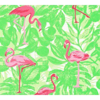 AS-359802 Pink Animal Wallpaper