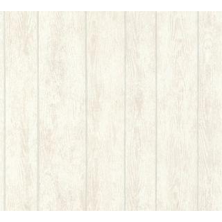 AS-364602 Cream Wood Look Wallpaper