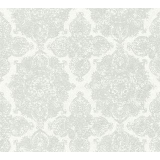 AS-364631 Silver Baroque Wallpaper
