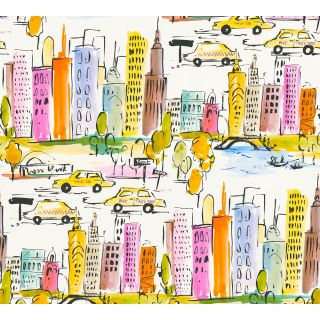 AS-367531 New York City Colourful Wallpaper