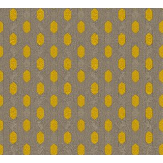 Absolutely Chic AS369732 Yellow Retro/ Vintage Wallpaper