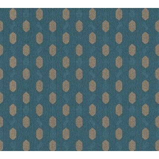 Absolutely Chic AS-369734 Blue Retro/ Vintage Wallpaper