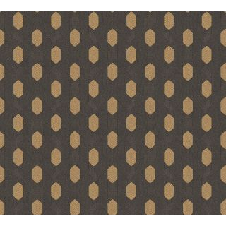 Absolutely Chic AS-369735 Black Retro/ Vintage Wallpaper
