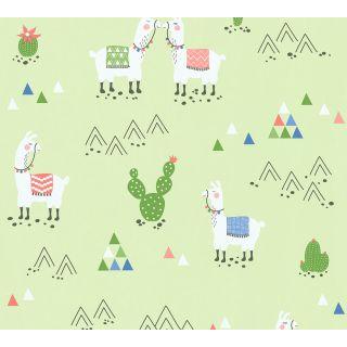 AS-369851 Green Fancy Wallpaper