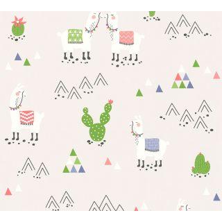 AS-369853 Gery Fancy Wallpaper