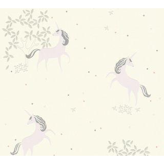 AS-369892 Cream / Beige Unicorn Children's Wallpaper