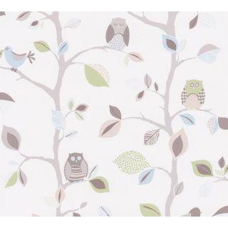 AS-856333 Birds/Owls Brown Nature Kids Wallpaper