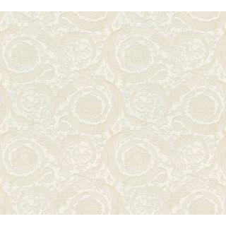 Versace 93583-2 Barocco Scroll Flowers