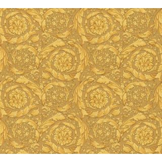 Versace 93583-3 Barocco Scroll Flowers