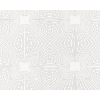 AS Creation Expanded Blown Vinyl Ceiling Wallpaper White 6639-17