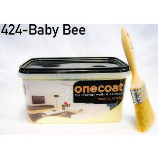 One Coat Matt Emulsion - Baby Bee 5L