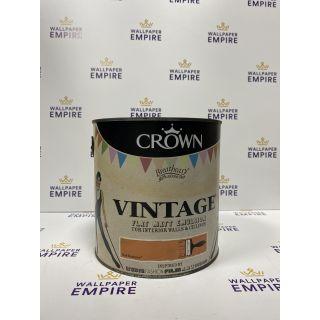 Crown Vintage Flat Matt Emulsion Paint For Interior Walls Ceilings Bell Bottoms