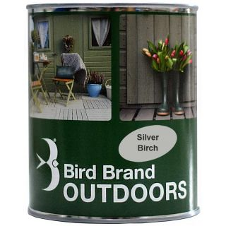 Bird Brand Outdoor Projects Shed & Fence - Silver Birch
