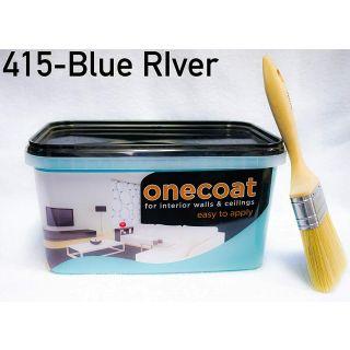 One Coat Matt Emulsion - Blue River 5L