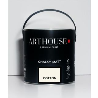 Chalky Matt Paint 2.5l - Cotton 1218