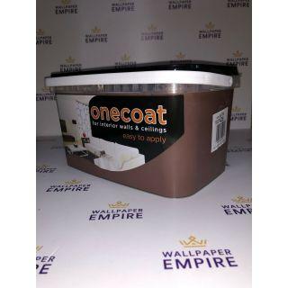 One Coat Matt Emulsion - Chocolate 5L