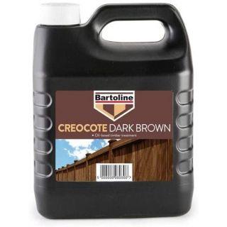 Bartoline Creocote - Drak Brown 4L