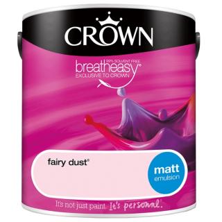 CROWN MATT EMULSION - FAIRY DUST 2.5L