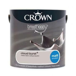 CROWN MATT EMULSION - CLOUD BURST 2.5L