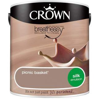 CROWN SILK EMULSION - PICNIC BASKET 2.5L