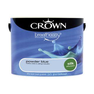 CROWN SILK EMULSION - POWDER BLUE 5L