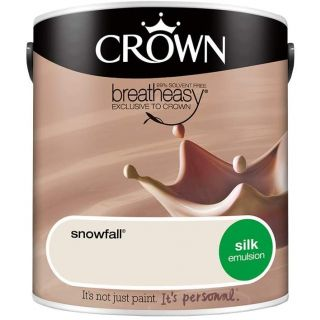 CROWN SILK EMULSION - SNOWFALL 2.5L