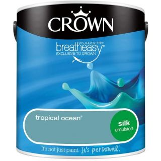 CROWN SILK EMULSION - TROPICAL OCEAN 2.5L