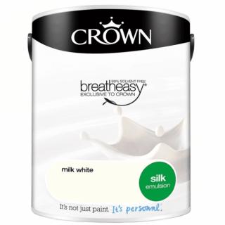 CROWN SILK EMULSION - WHITE PEPPER 5L