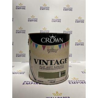 Crown Vintage Flat Matt Emulsion Paint For Interior Walls Ceilings Cult Movie