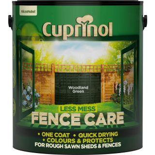 Cuprinol Less Mess Fence Care Woodland Green 6L