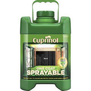 Cuprinol One Coat Sprayable Fence Treatment Exterior Woodcare 5L