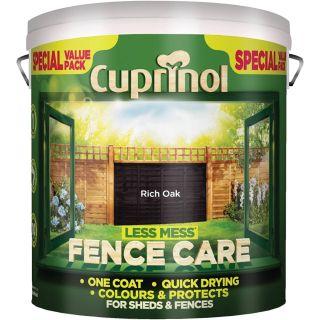 Cuprinol Less Mess Fence Care - Rich Oak 6L