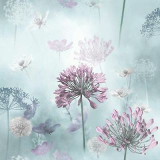 ARTHOUSE DUCK EGG SPRING MEADOW FLOWERS FLORAL QUALITY WALLPAPER 697400